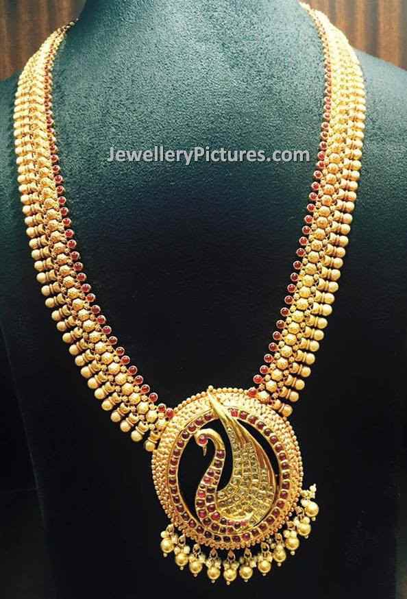 Latest Haram Designs in Gold Jewellery Designs