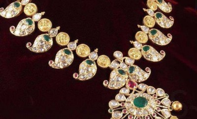 latest indian gold and diamond jewellery designs from mor jewellers