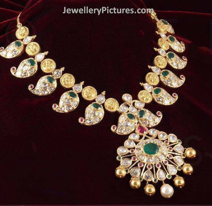 Latest Indian Gold and Diamond Jewellery Designs Jewellery Designs