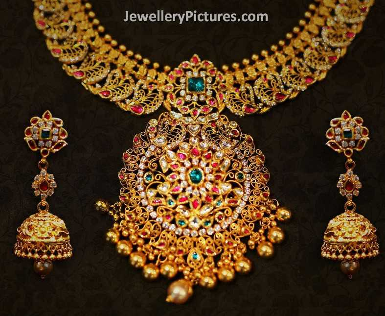 Latest Indian Jewellery Designs Necklace Set Jewellery Designs