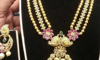 latest indian jewellery gold an duncuts