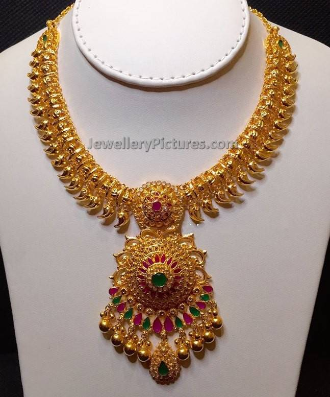 Mango Jewelry Traditional Designs - Jewellery Designs