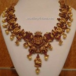 Temple Jewellery Designs Catalogue Gold