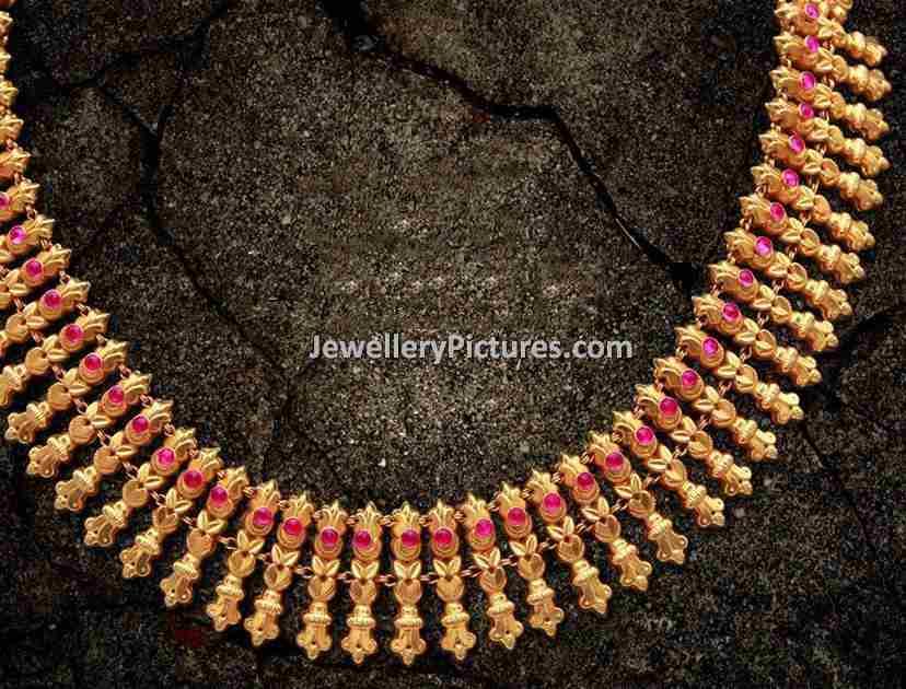 Gold Antique Jewellery Designs - Jewellery Designs
