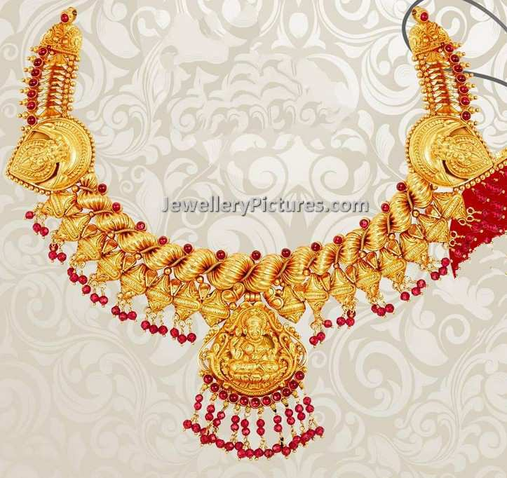 pin gomathinayagam jewelery on south diamond jewellery necklaces beaded indian antique necklace gold by pinterest jewelry set
