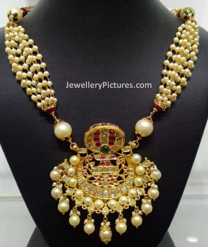 South Indian Pearl Jewellery Designs Jewellery Designs