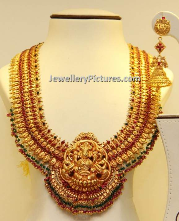 South Indian Traditional Gold Jewellery Designs Jewellery Designs