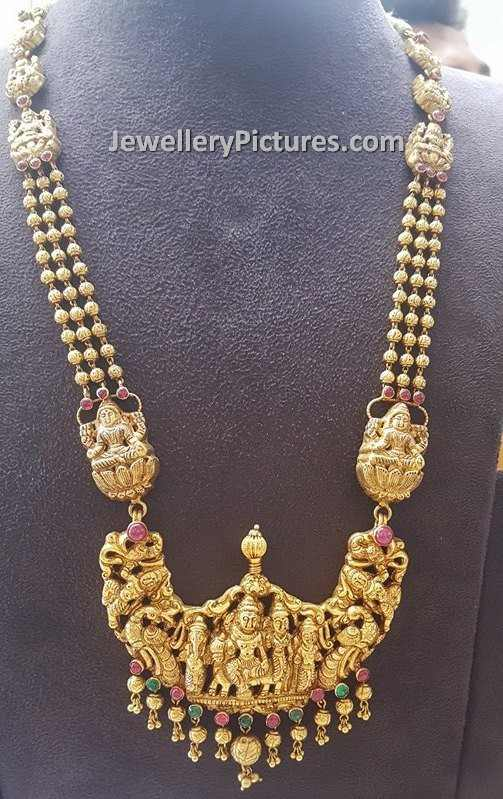 Gold Aaram Designs Jewellery Designs