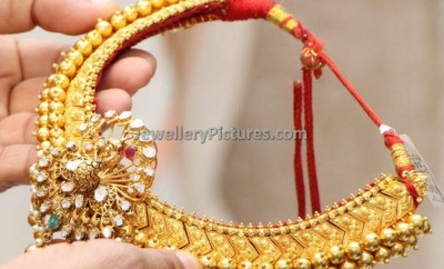 tussi model traditional gold necklace designs