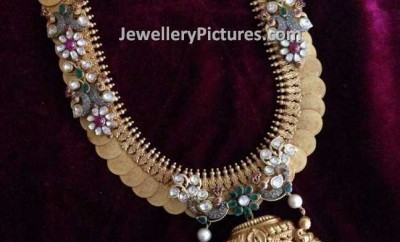 traditional south indian gold jewellery designs of kasuharam