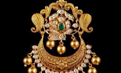 antique gold pendants jewellery