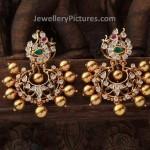 Gold Tops Design Stunning Earrings