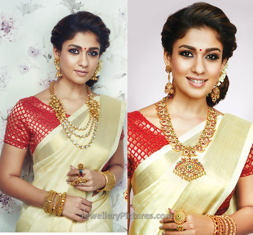 Nayanatara Jewellery In Grt Jewels Ad Jewellery Designs,Easy Nail Art Designs At Home For Beginners Without Tools