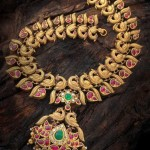 South Indian Gold Necklace Designs