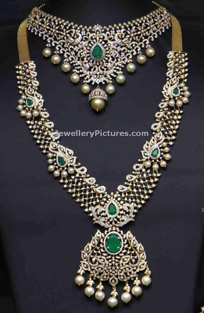 jewelry indian set thecolorbars friendly wedding solid natural certified gold p necklace ct diamond