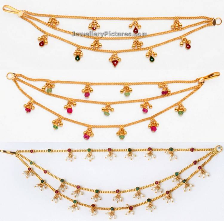 Gold Champaswaralu Latest Models - Jewellery Designs