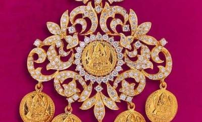 Antique Pendant Jewellery Designs By Davanam - Jewellery ...  Davanam