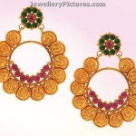 Kasulaperu Earrings in ChandBali style