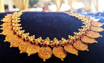 gold kasumala necklace models