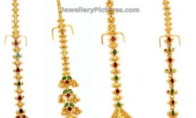 papidi billa latest designs in gold