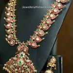 Ruby Mango Haram With Earrings
