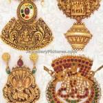 Antique Pendant Jewellery Designs By Davanam