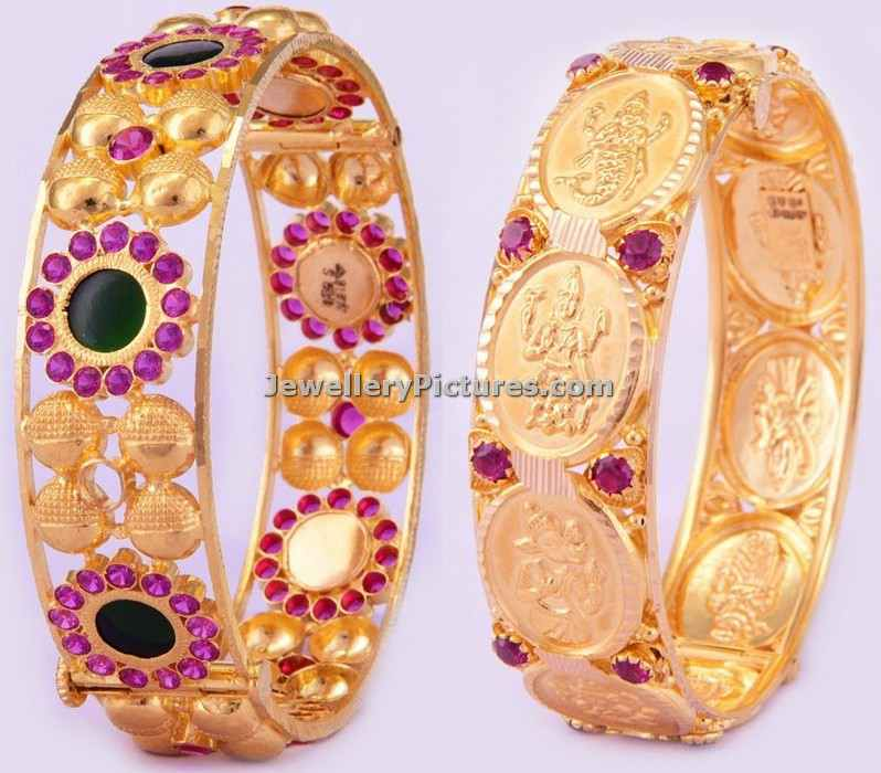 traditional gold bangle designs bhima jewellers