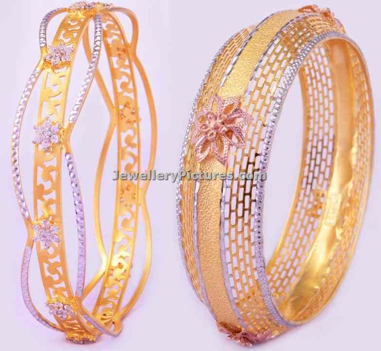bhima jewellers gold bangles designs