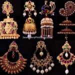 Bhima Jewellers Earrings Designs