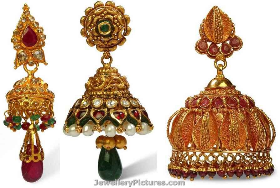 jhumka designs in bhima