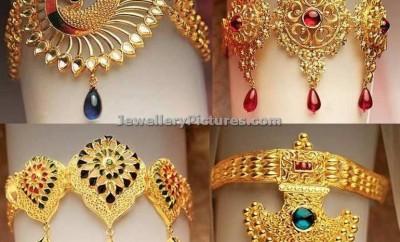 gold bajuband design catalogue
