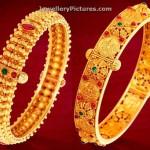 Gold Bangles Kankanalu in GRT Jewellers