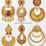 Chand Bali Earrings In Gold
