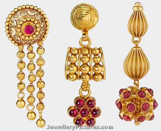 gold earrings designs catalogue joyalukkas