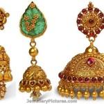 Bhima Jewellers Jhumka Designs
