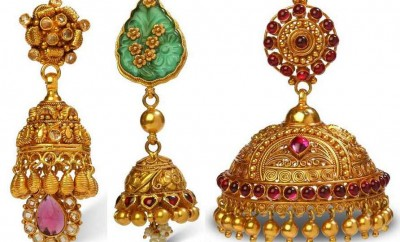bhima jewellers jhumka designs latest models