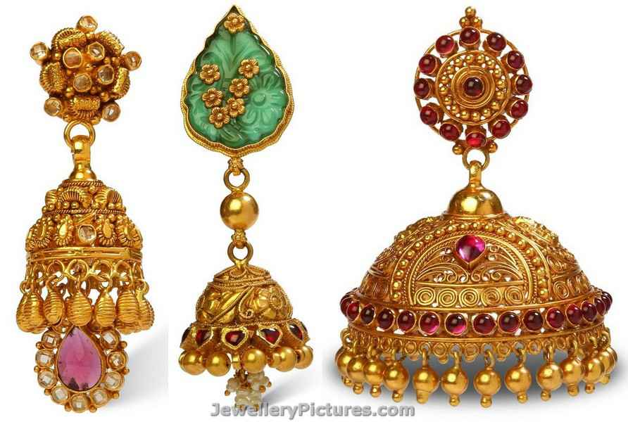 Jhumka Latest Indian Jewelry - Jewellery Designs