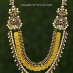 Gold Step Kasulaperu with Pachi Diamonds