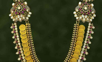 raani haar model gold kasulaperu designs with price