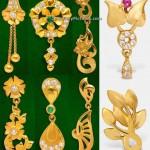 Earrings Designs in GRT Jewellers
