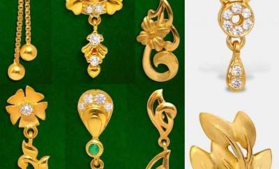 earrings designs in grt