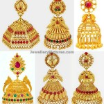 Jhumka Designs In Joyalukkas