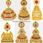 Jhumka Designs In Joyalukkas