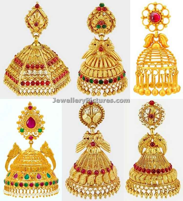 jhumka designs in joyalukkas latest collection