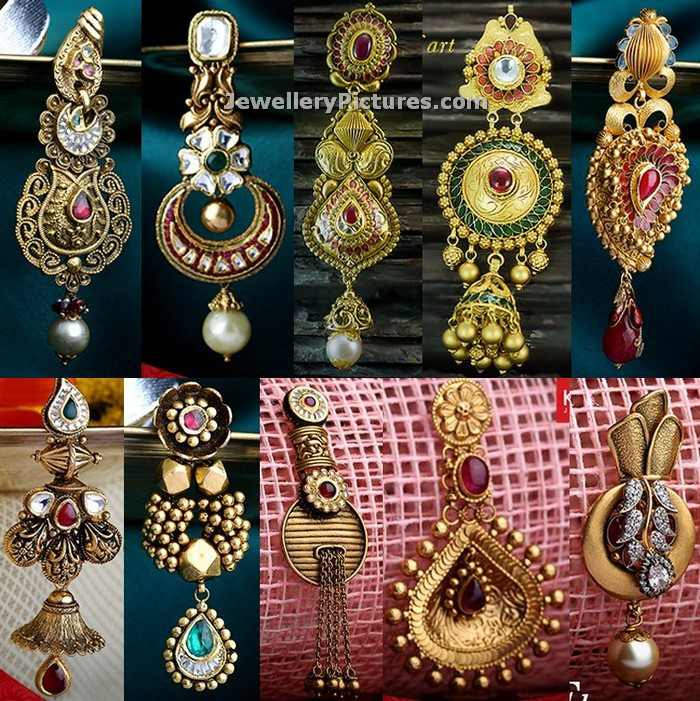 Kalyan Jewellers Earrings Designs - Jewellery Designs