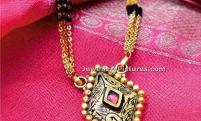 manubhai jewellers nallapusalu chain latest designs