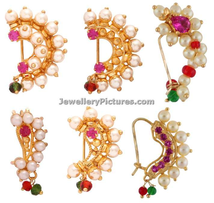 Maharashtrian Nath Design Collection Jewellery Designs