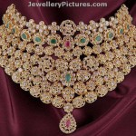 Uncut Diamond Necklace Sets Designs