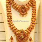 Antique Peacock Haram and Necklace