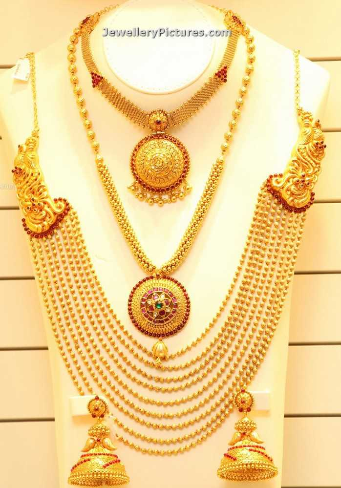 Gold Rani Haar Designs - Jewellery Designs